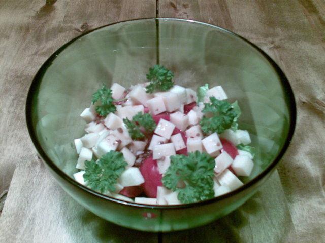Reseptikuva: Salaneuvoksen salaatti 1