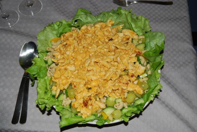 Hedelmäinen Kalkkuna-Pasta salaatti 1