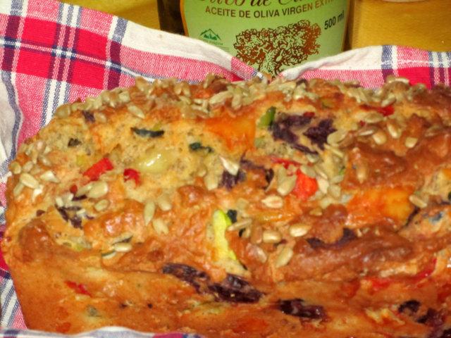 Helppo oliivileipä