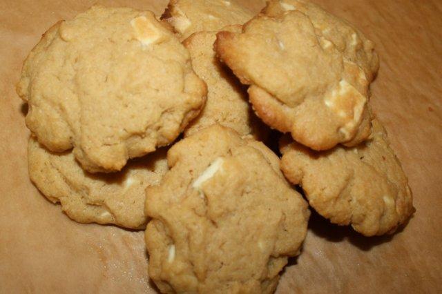 Valkosuklaa Cookies 1