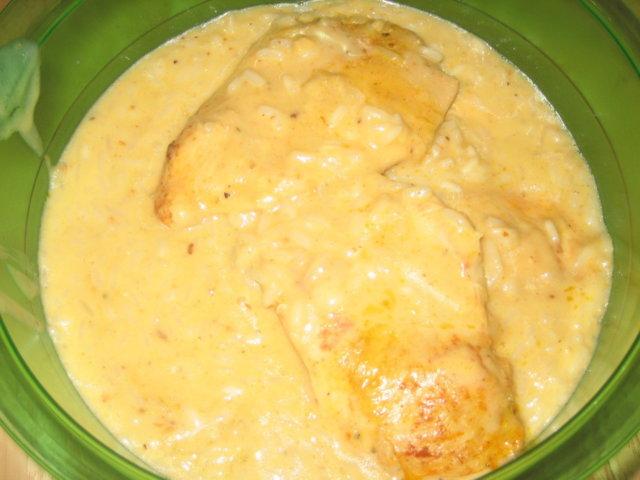 Broileria, kastiketta ja riisiä uunissa 1