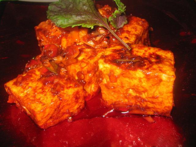 Paistettu Tofu