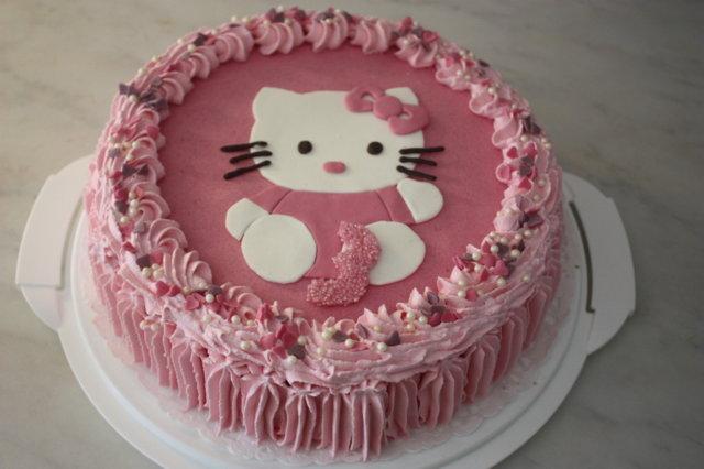 Hello kitty -kakku 1