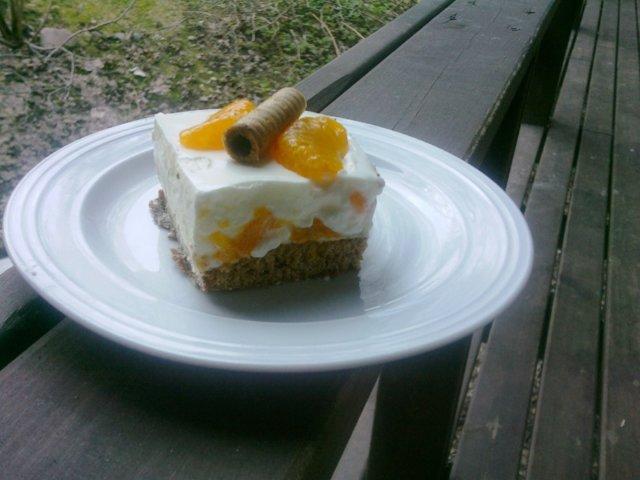 Mandariini Rahka Kakku 3