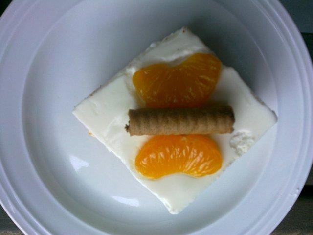 Mandariini Rahka Kakku 4