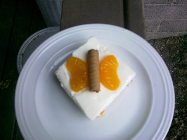 Mandariini Rahka Kakku