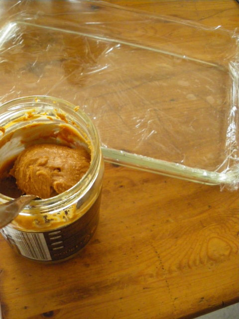 Maapähkinävoi-fudge 3