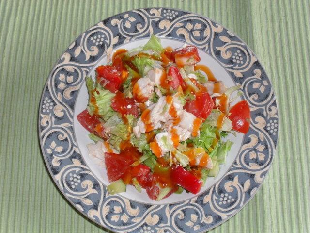 Makea kanasalaatti 1
