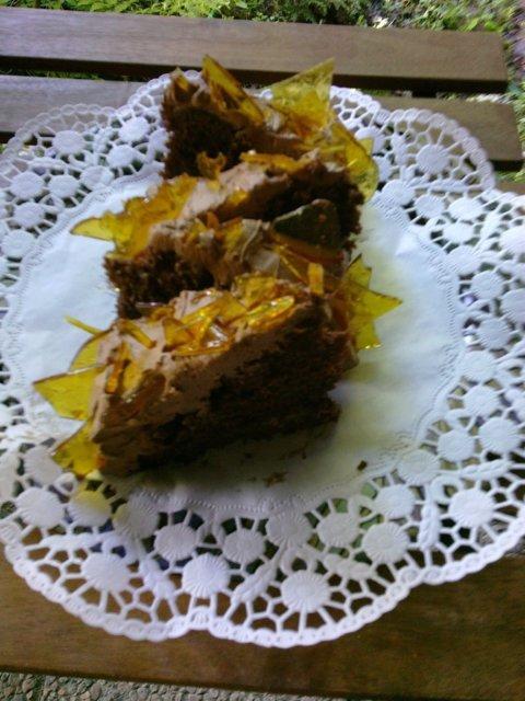 Suklaa-kinuski-lakka-kakku 3