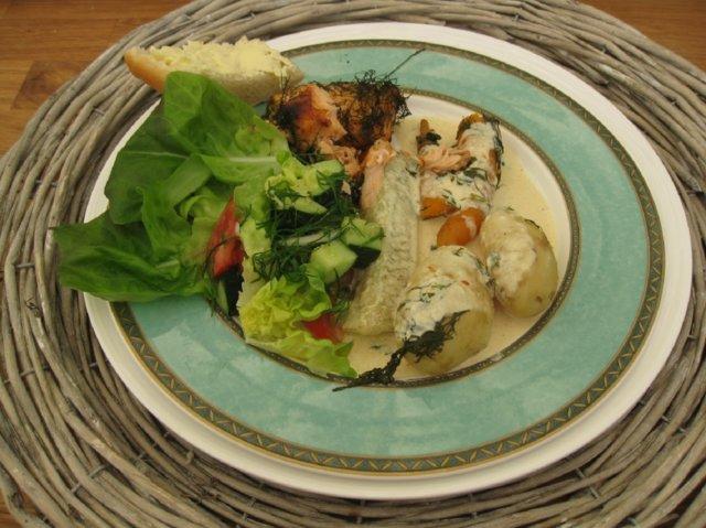 Reseptikuva: Kesäinen kurkkukastike kalalle 1