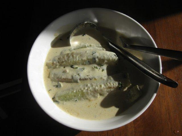 Reseptikuva: Kesäinen kurkkukastike kalalle 10