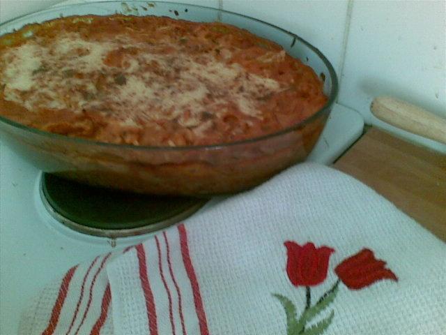 Reseptikuva: Kala- Lasagnette,mökkiversio 1