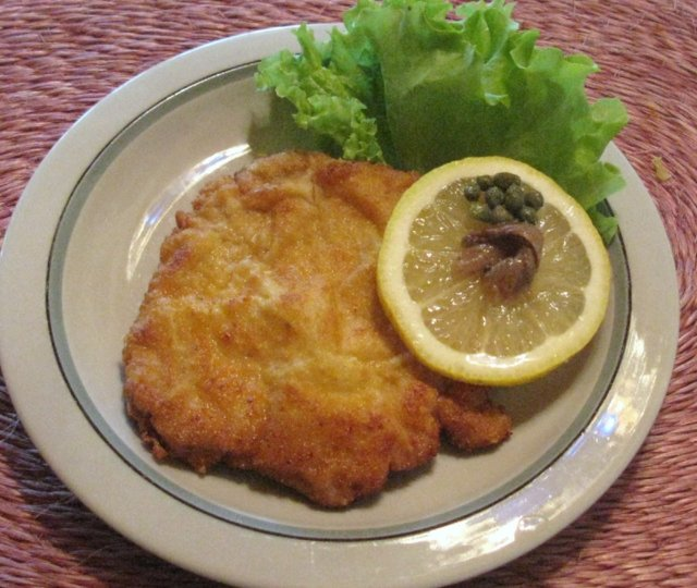 Wiener Schnitzel / vyprážaný rezeň 3