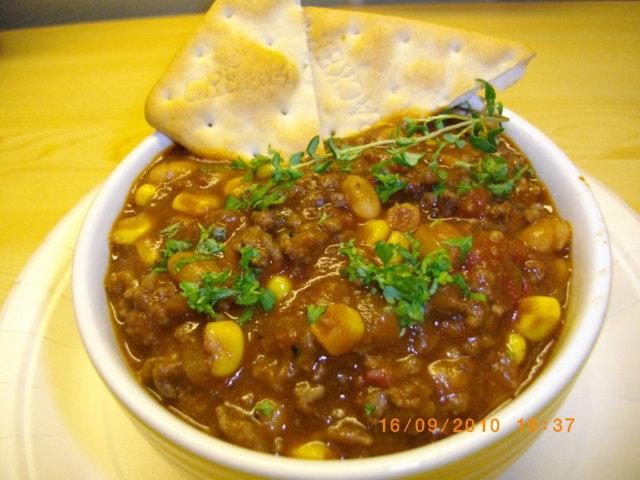 Chili Con Carne (lihapapupata) 1