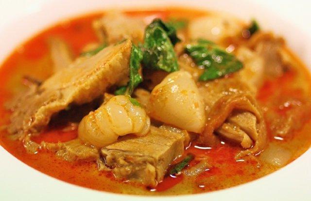 Punainen Thai Ankka