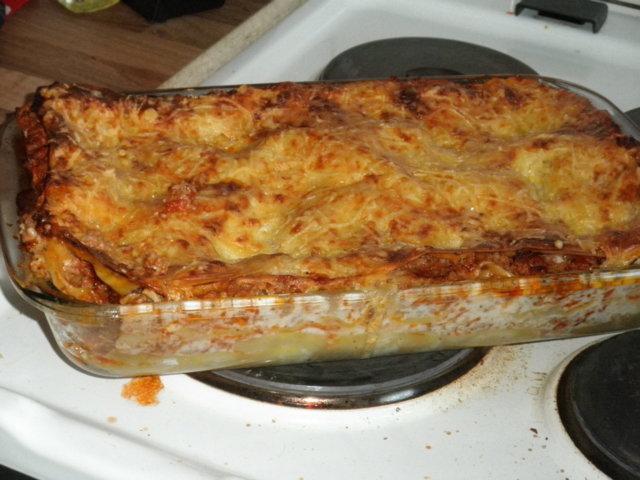 Jauheliha lasagne 1