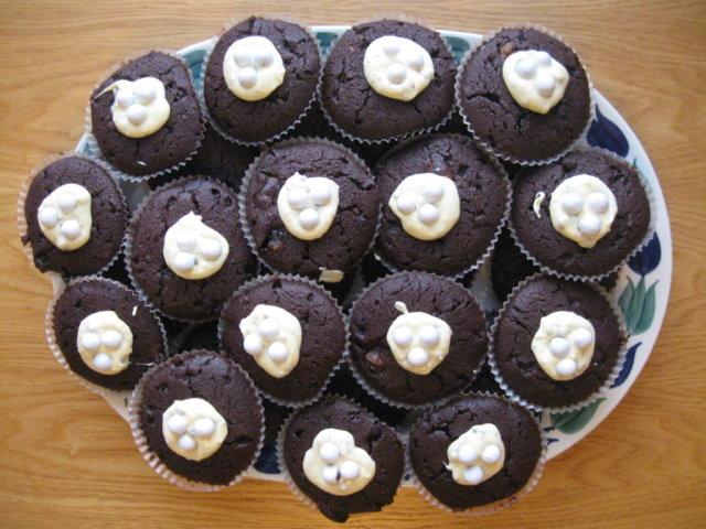 Suklaiset suklaamuffinssit 1