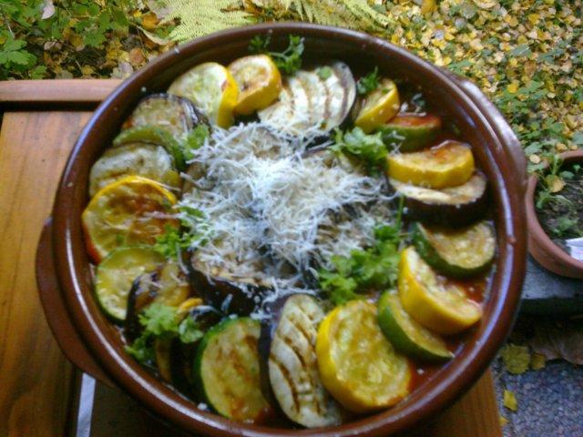 Kreikkalainen Vihanneksia & Juustoa 1