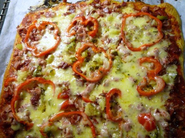 Karpparin pizzaa Laihduttajalle 1