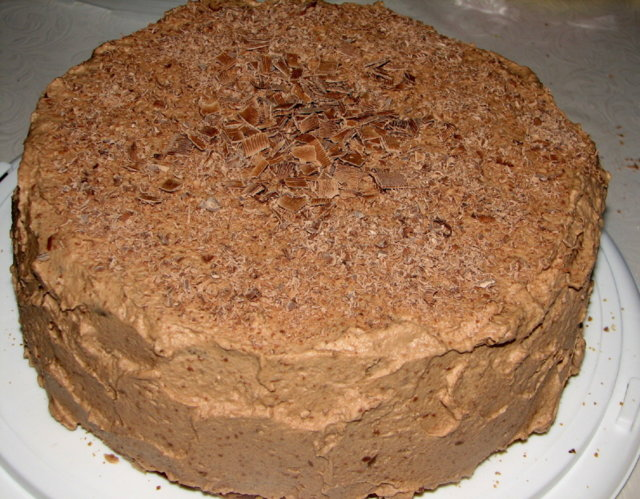 Mansikka - Suklaakakku