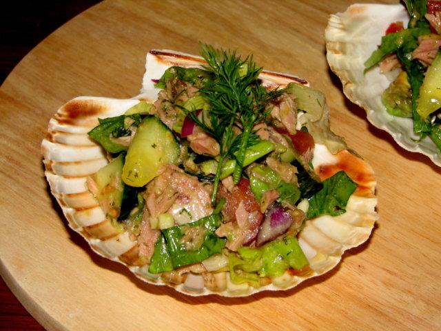Reseptikuva: Avokado-Tonnikala Salaatti 4