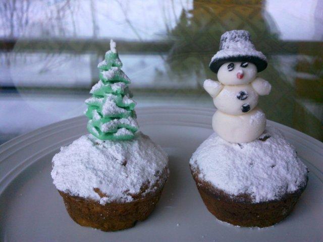 Joulun omena-mantelimuffinssi 1