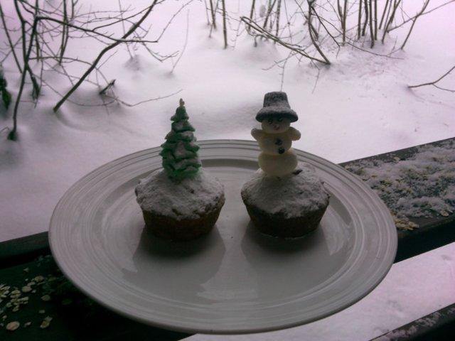 Joulun omena-mantelimuffinssi 2