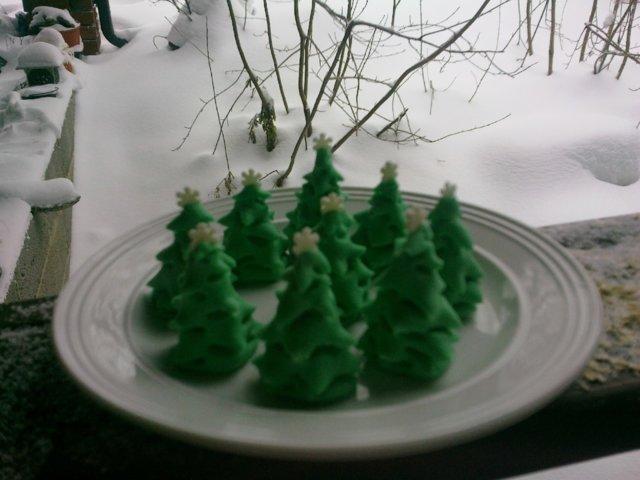 Joulun omena-mantelimuffinssi 5