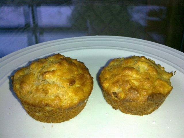 Joulun omena-mantelimuffinssi 7
