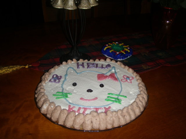 Hello Kitty kakku helppo. 1