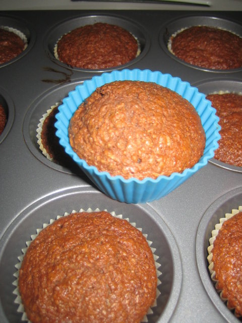 Reseptikuva: Muffinit (kuitupitoiset) 1