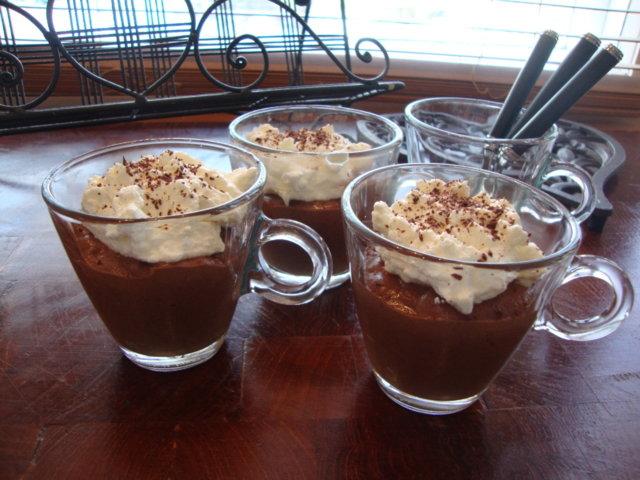 Suklaa-kahvi mousse
