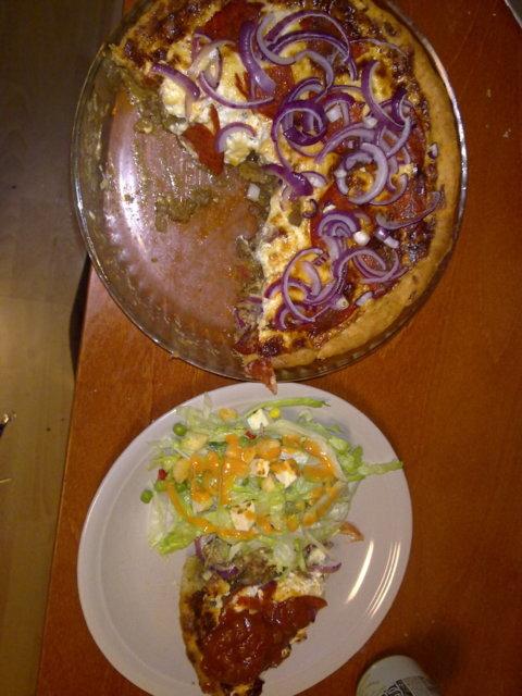 Tacopiirakka + Salaatti 4