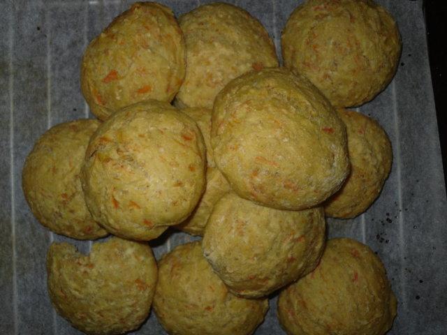 porkkanasämpylät 1