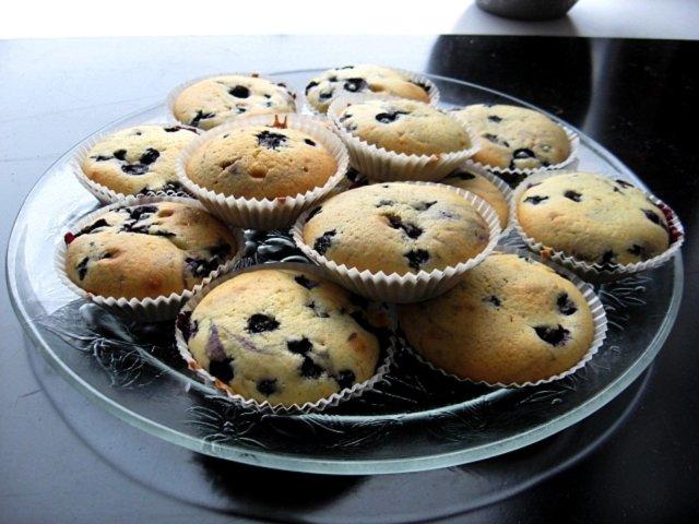 Reseptikuva: Mustikkamuffinssit 1