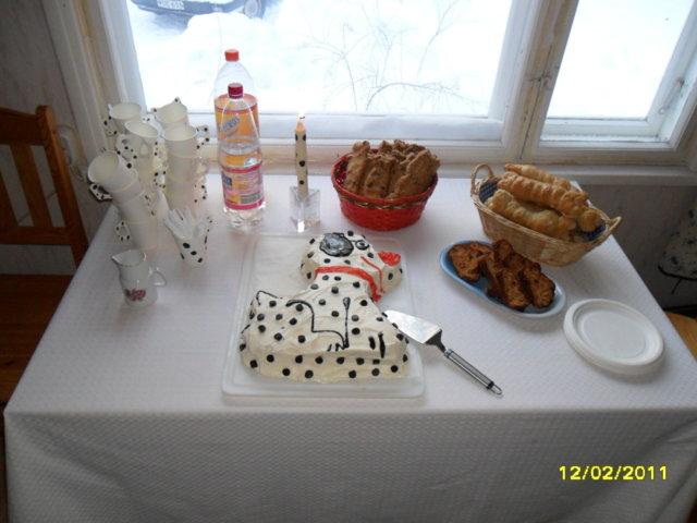 Reseptikuva: Pilkkujuhlien pitopöytä :) 1