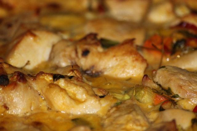 chilinen mangobroilerivuoka