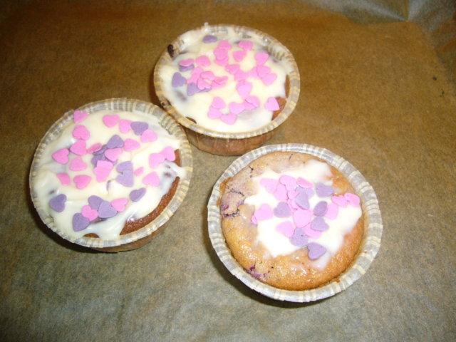 Reseptikuva: Ystävänpäivä muffinit 1