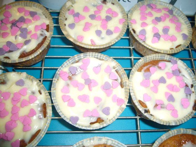 Reseptikuva: Ystävänpäivä muffinit 3