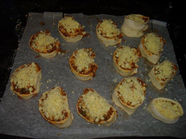 Tuliset pizzarullakiekot 2