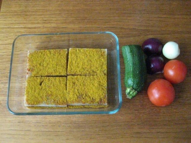 Reseptikuva: Maukas seipaistos kasviksin 1