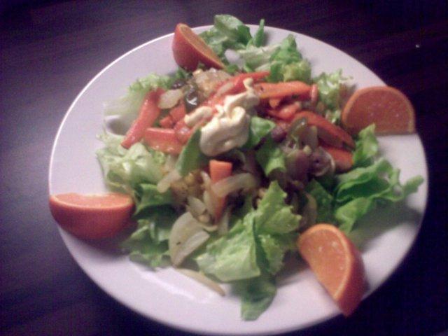 Tulinen salaatti 1