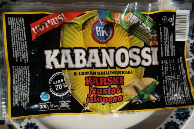 Kabanossi-korvasienimuhennos