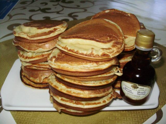 Pancakes (amerikkailaiset pannukakut) 2