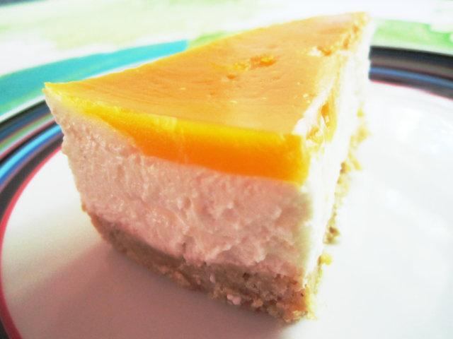Aurinkoinen juustokakku 1