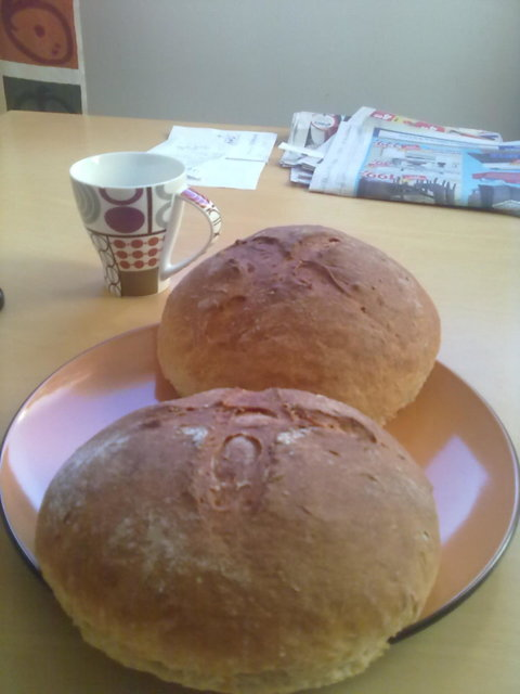 Vaalea leipä (rasvaton ja todella helppo) 1