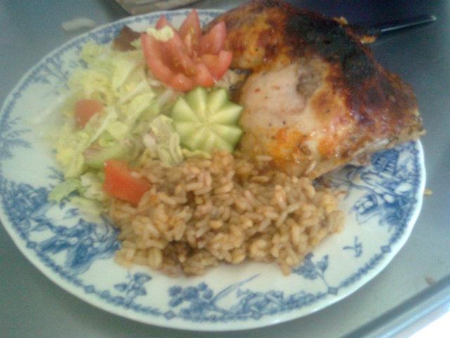 Kanaa riisipedillä