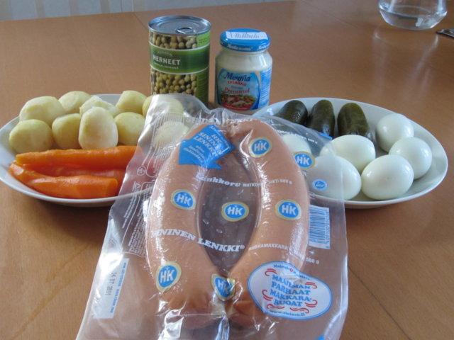 """Salaatti """"Olivje"""" by USSR 2"""