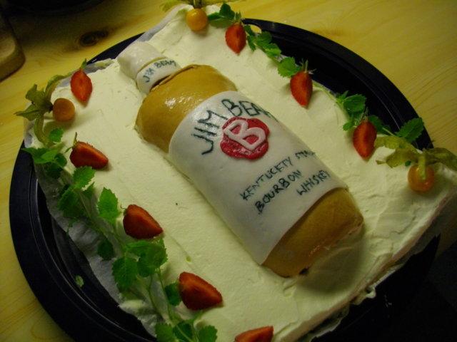 Jim Beam- kakku 1