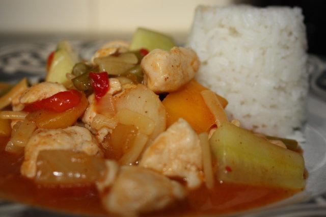 Reseptikuva: Sweet & Sour Chicken 2